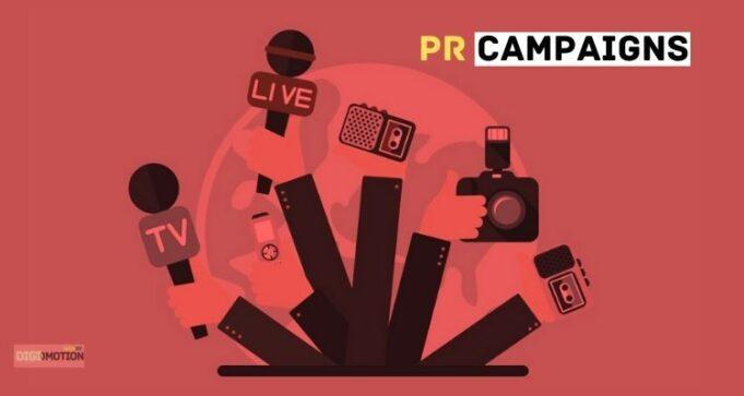 PR campaigns in india