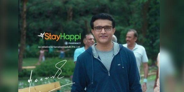 Sourav Ganguly stayhappi