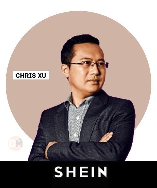 Shein founder Chris Xu