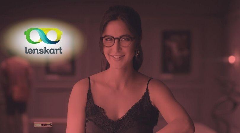 lenskart ad features katrina kaif