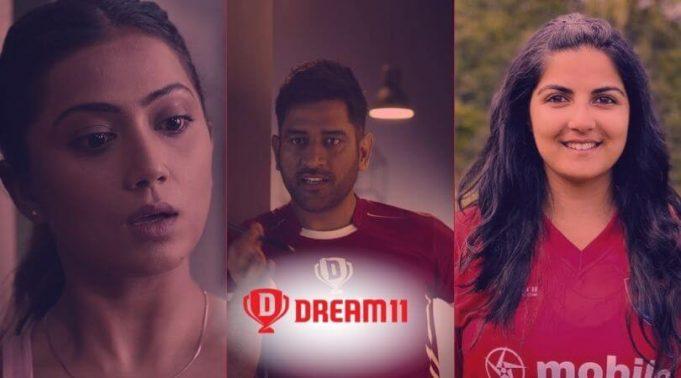dream11 ad cast