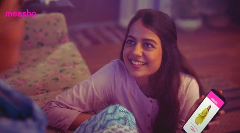 meesho ad actress